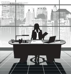办公室商务人士图片