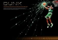篮球球星创意前卫艺术图片