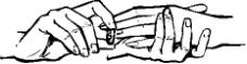 人物手掌矢量图