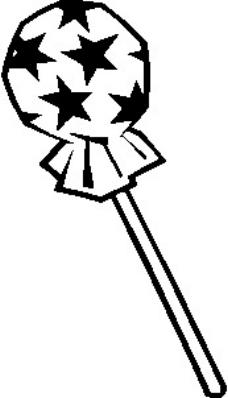 棒棒糖矢量图下载_乐乐简笔画