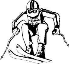 矢量下载滑雪人物