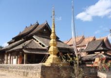 景迈佛寺图片