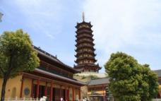 天竺塔及寺庙图片
