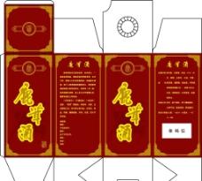 鹿茸酒盒图片