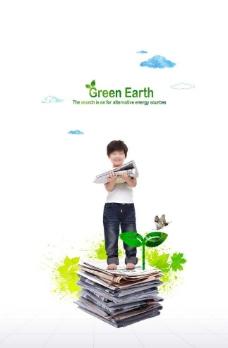 儿童环保图片
