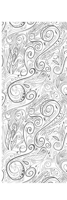 传统图案花纹背景设计矢量素材