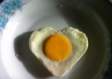 爱心早餐图片