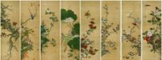 四季花鸟图图片
