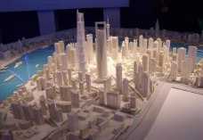 上海城市规划模型图片