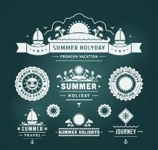 夏季标签图片