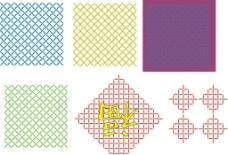 花纹底纹矢量图图片