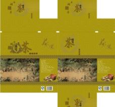 西湖龙井包装盒图片