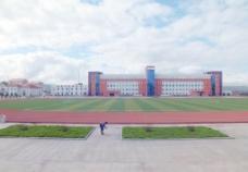 根河一中校园景观图片