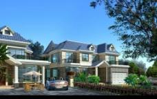 二层别墅施工图带效果图片