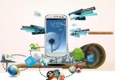 移动智能手机海报图片
