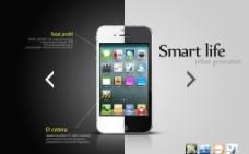 苹果手机宣传图片