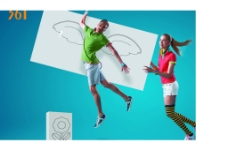运动海报图片