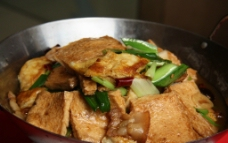 干锅千页豆腐图片