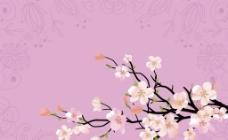 樱花花纹图片