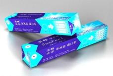 牙膏立体图图片