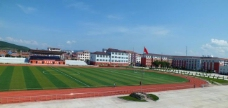 根河一中夏天校园图片