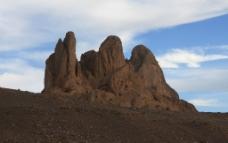 沙漠小山图片