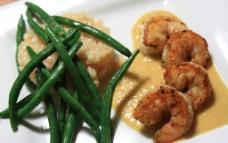 大虾咖喱图片
