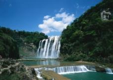 美丽瀑布风景图片