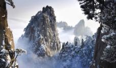 美丽雪山风光图片