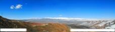 山峰雪山风景图片