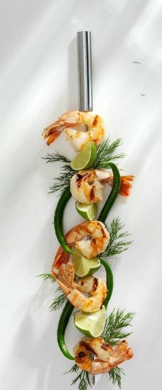大虾料理图片