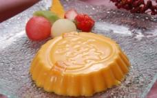 鲜芒果布丁图片
