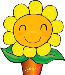 向日葵花花图片