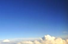 云朵蓝天图片