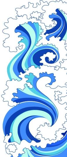 大海 水纹 浪花图片