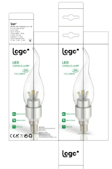 LED蜡烛灯包装图片