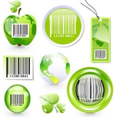 绿色环保标签图片