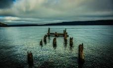 废旧码头图片