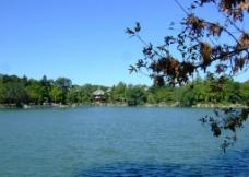 北大未名湖图片
