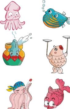 水底 海豚 鱼 可爱图片