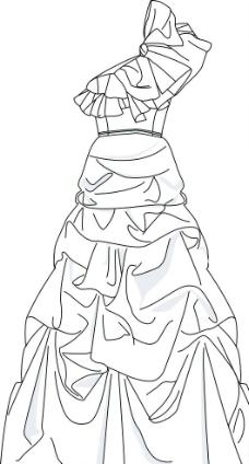 裙子款式设计图片