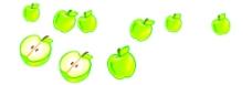 苹果矢量图片