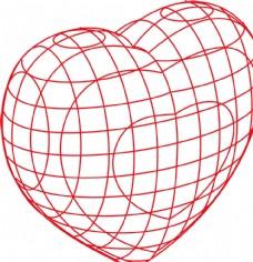 心形 網紋心 紅心