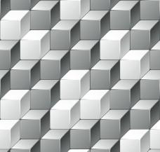 动感立体方块背景图片