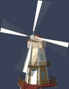 风车模型图片