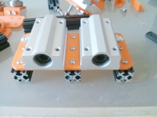 双直线轴承大来openbeam安装板