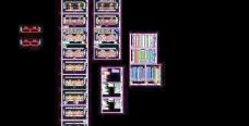 芜湖万科城多层楼房设计施工图