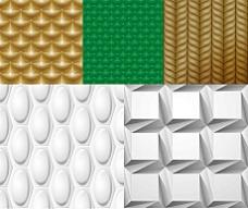 三维连续图形矢量素材