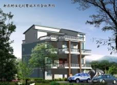 新农村住宅别墅施工图图片