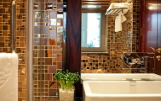 豪宅卫生间图片